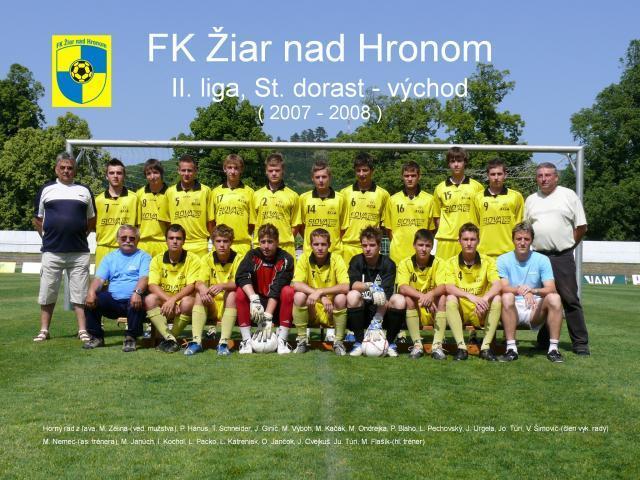 FK Žiar nad Hronom - Starší dorast / Futbalové kluby